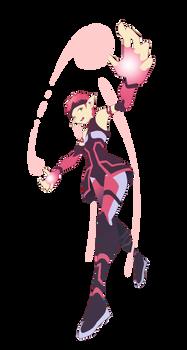 Aelita - TRAVEL - Updated Lyoko Form