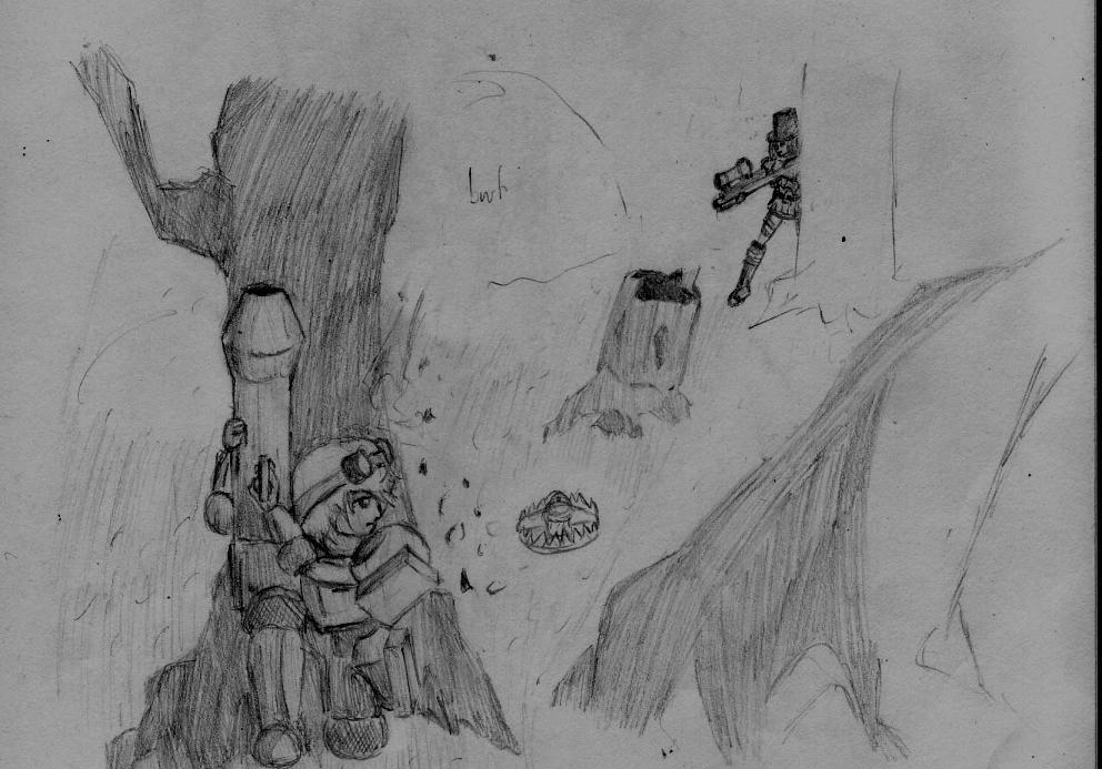 Yorlde vs Sheriff by Naotachai