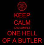 Keep Calm Black Butler