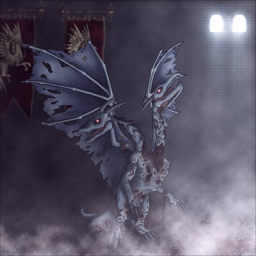 Frost Dragon: Fierce Frost Dragon By DesertDarky On DeviantArt