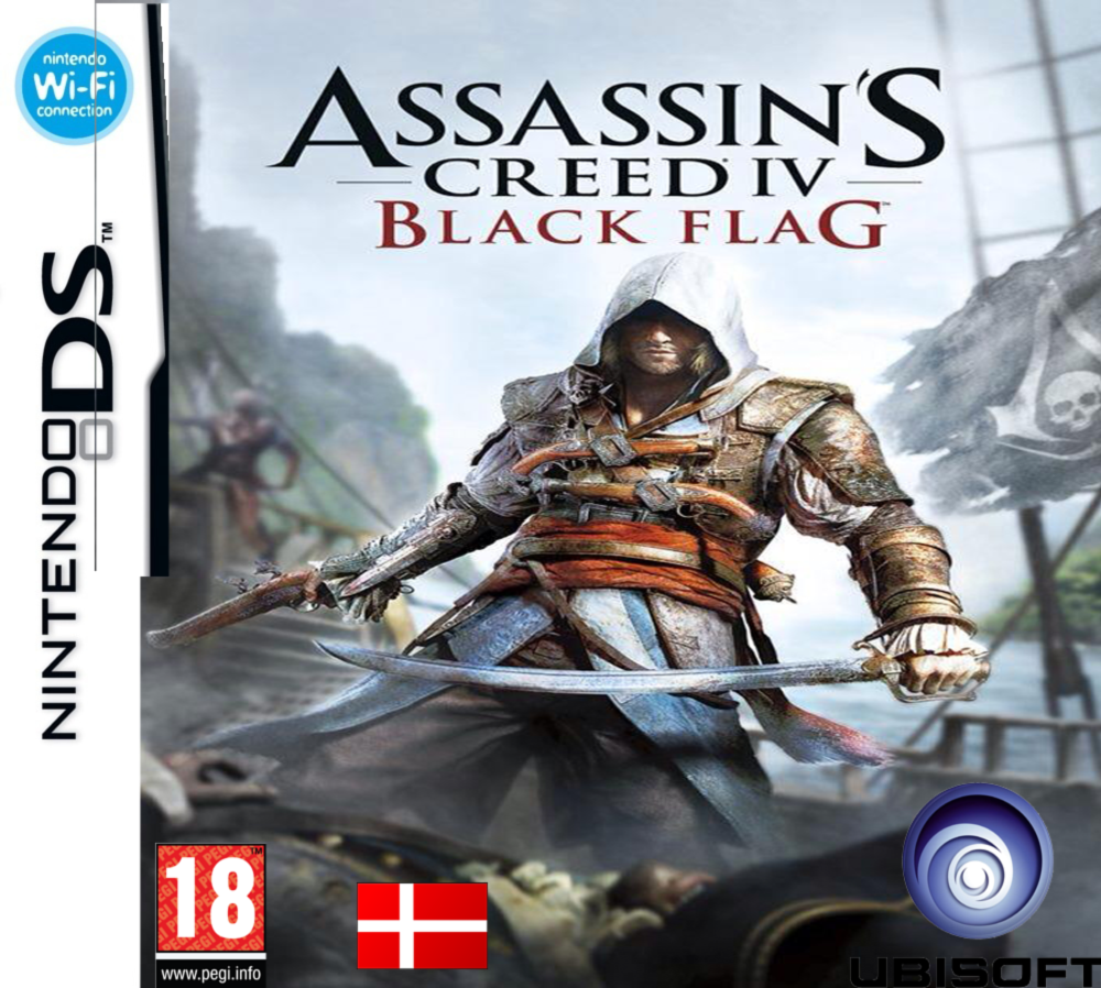 Nintendo Ds Assassins Creed Iv Costum Cover By Kari5 On Deviantart
