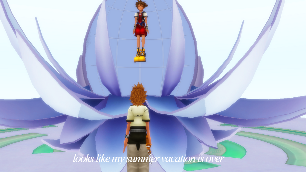 Looks Like My Summer Vacation Is Over Roxas by kari5 on ...