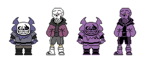 SwapFell Sans and Papyrus