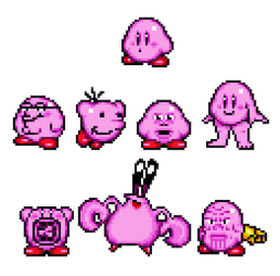 Collection of Cursed Kirbos
