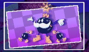 (Super Mario 64) - King Bomb-omb