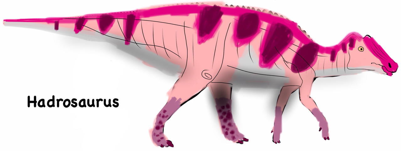 hadrosaurus foulkii by vespisaurus