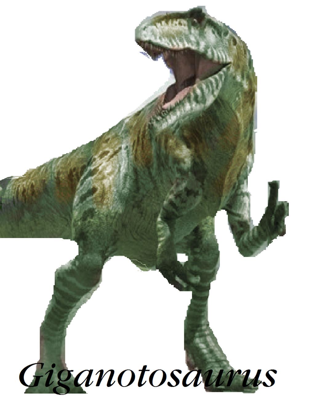 Dinosaur Train Giganotosaurus in real form by Vespisaurus ...