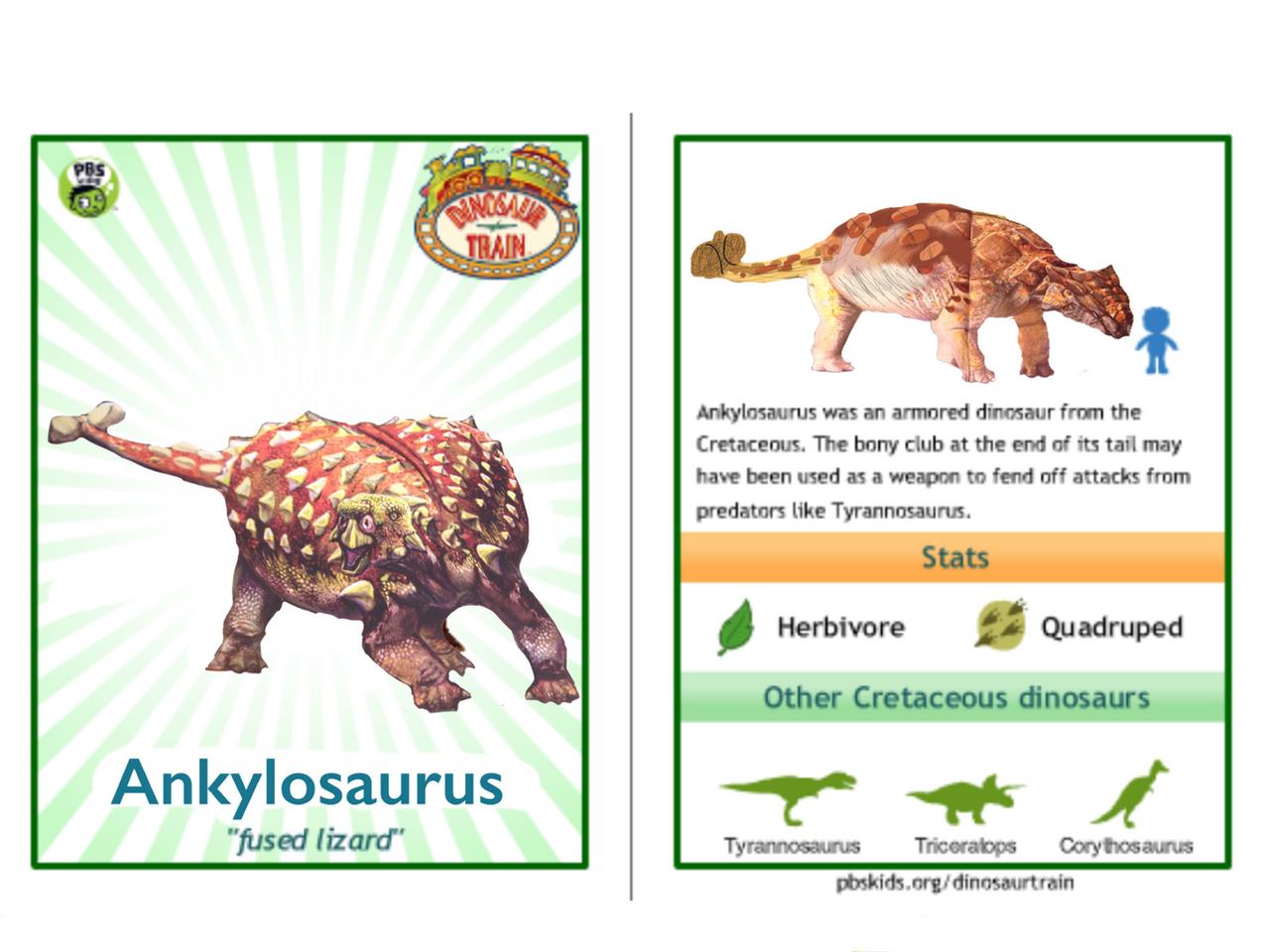 dinosaur train ankylosaurus - photo #4