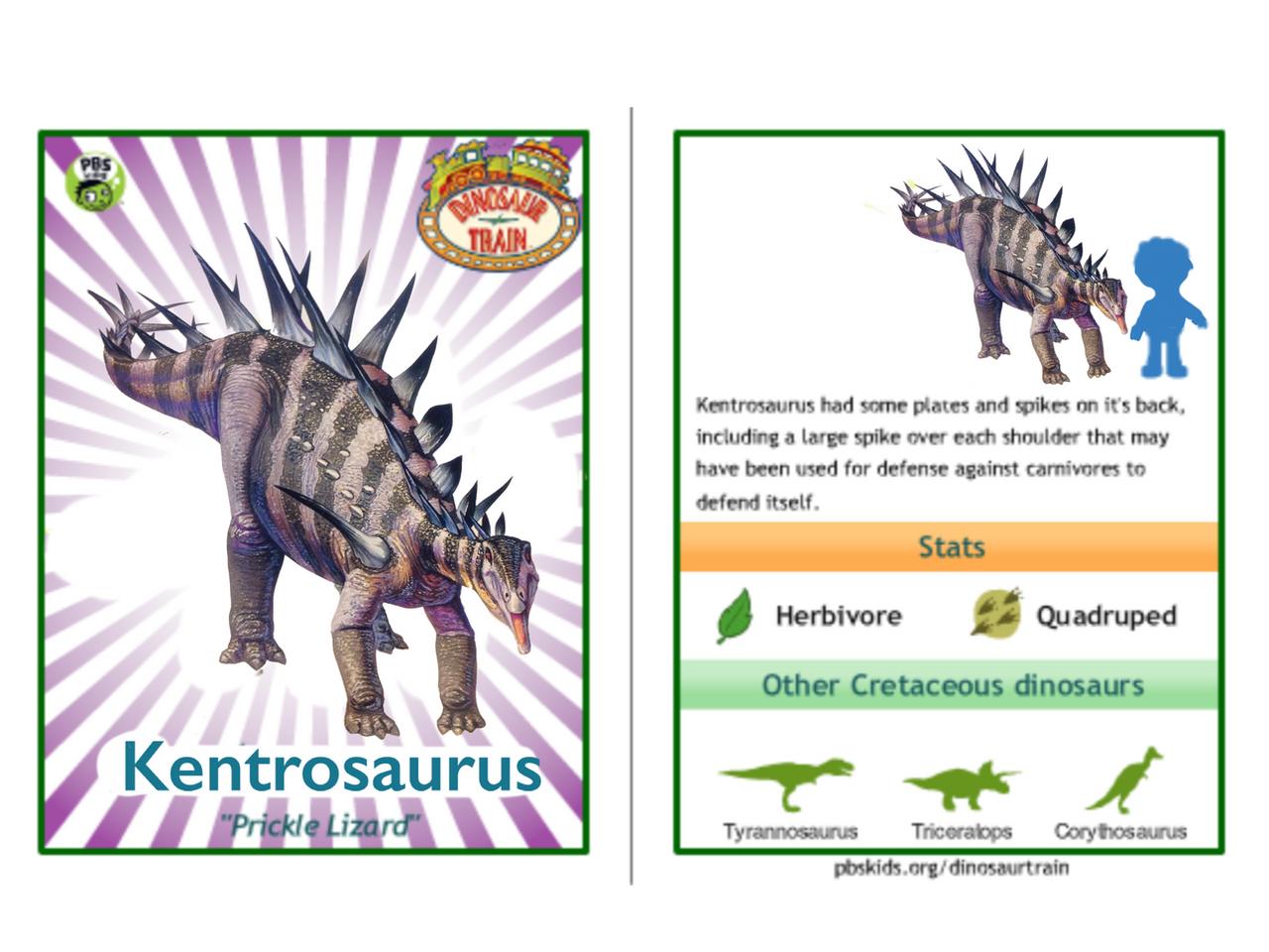 dinosaur train kentrosaurus - photo #6