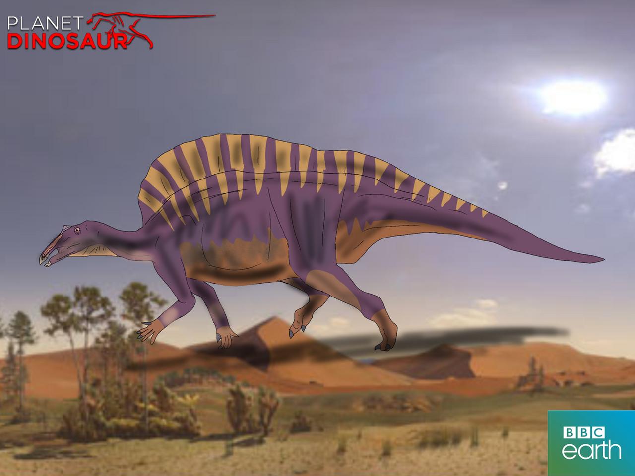 bbcs planet dinosaur ouranosaurus by vespisaurus on