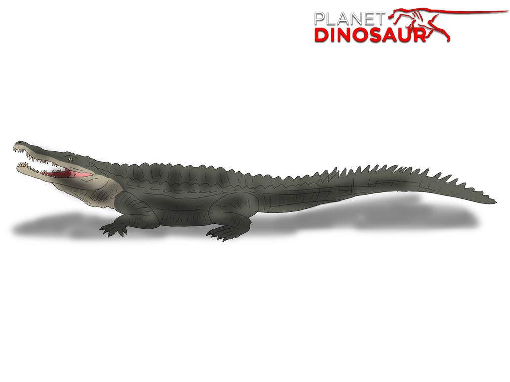 Planet Dinosaur- Goniopholis by Vespisaurus