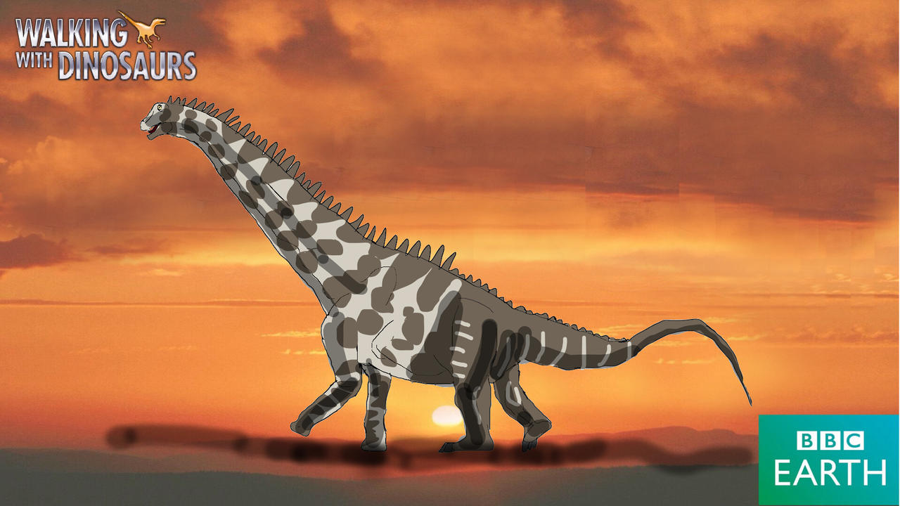 Walking With Dinosaurs: Alamosaurus By Vespisaurus On