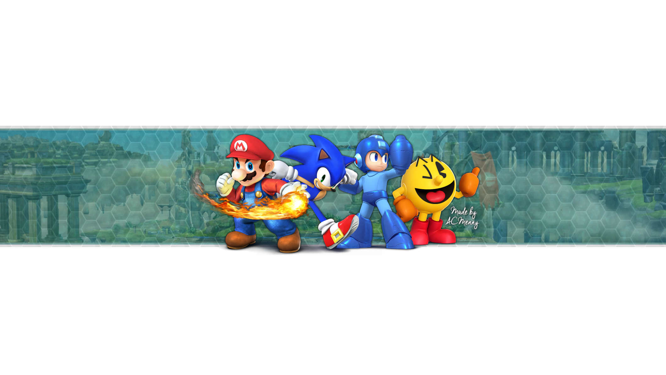Free super smash bros wii u 3ds youtube banner by acmenny on