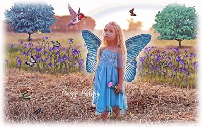 Butterfly Field by HayzPaling