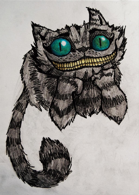 Cats | Alice in Wonderland (Tim Burton) | Cheshire by ...