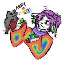 Ashy Hearts Ni by Sdae