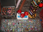 lots of anime,otaku buttons
