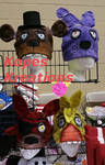Five Nights at Freddy's hand painted hats