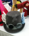 MLP DISCORD STEAMPUNK HAT WITH GOGGLES