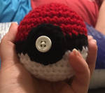 Crocheted Pokeball