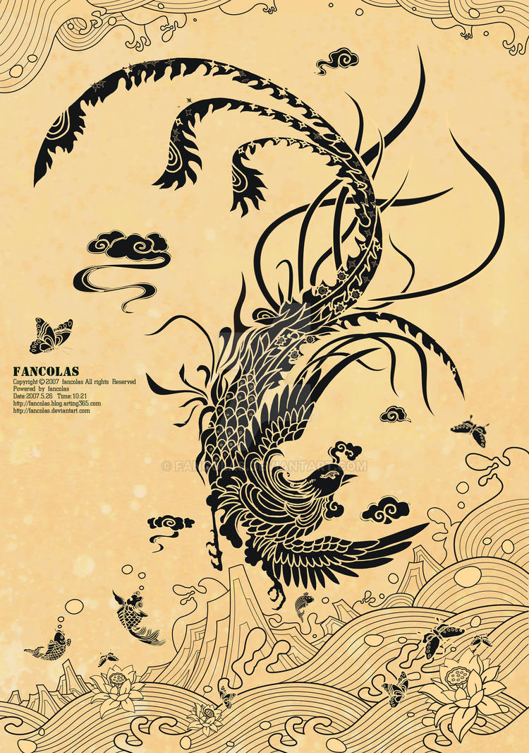 Phoenix by fancolas