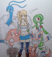 Lucy's team by anonamagal