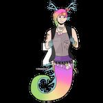 [ArtTrade] Seahorse by FroggosaurusRex