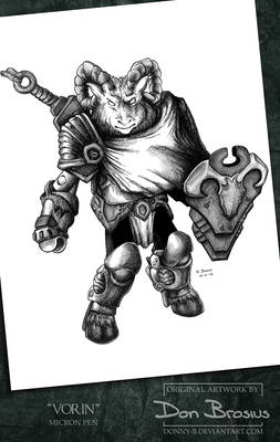 Battle Beast Minimate - Vorin