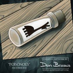 Inktober 2018 - Poisonous