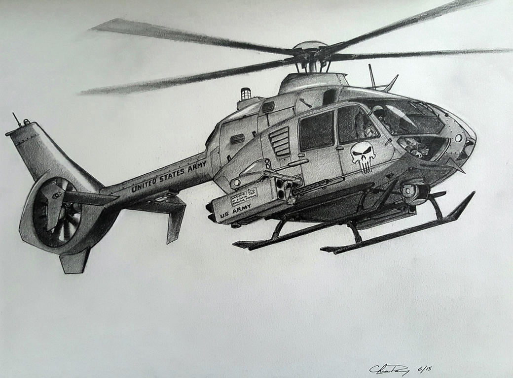 Concept Scout Helicopter (Eurocopter EC-135 Based) by ...