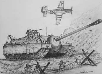 T-95 Tank Destroyer by ronincloud