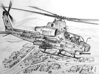 AH-1Z Viper by ronincloud