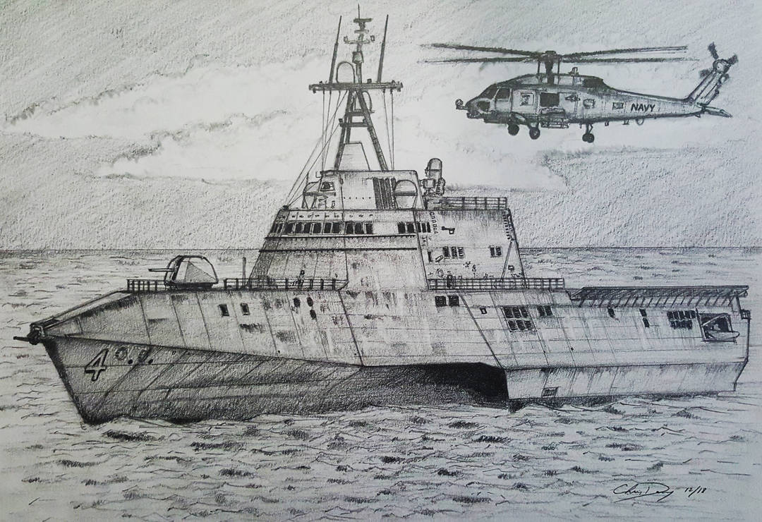 Littoral Combat Ship (LCS) by ronincloud