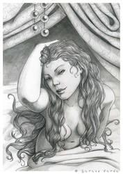 Black Diamond by SerenaVerdeArt