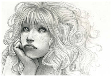 Bad hair day for Lady Sunshine by SerenaVerdeArt