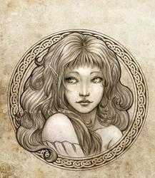 Dalarna of Sun and Moons by SerenaVerdeArt