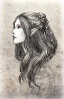 Daughter of the Black Elves by SerenaVerdeArt