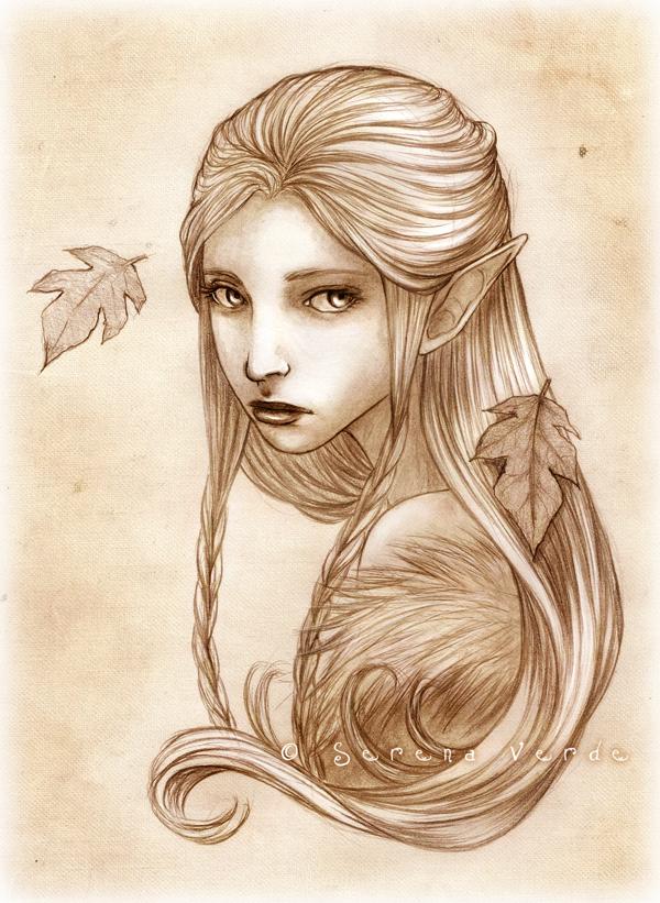Portrait commission: Shanye by SerenaVerdeArt