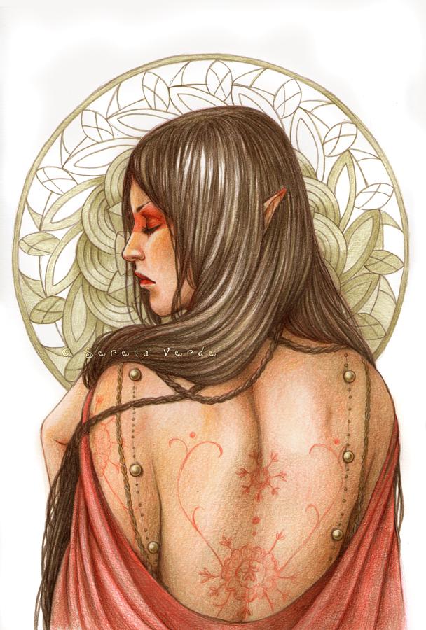 The Mandala by SerenaVerdeArt