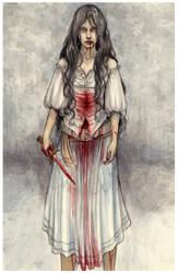 The Six Deaths - Messirama by SerenaVerdeArt