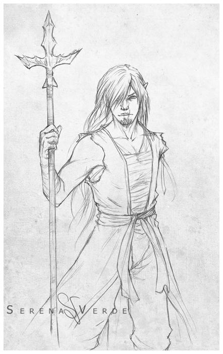 Sketch Commission - Heidge by SerenaVerdeArt