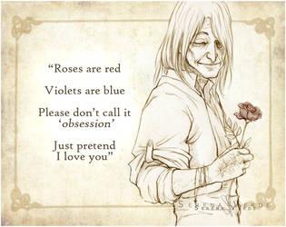 Be My Valentine - Vehnas by SerenaVerdeArt