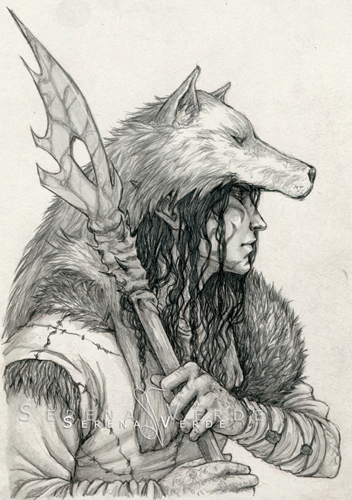 Commission: The Druid