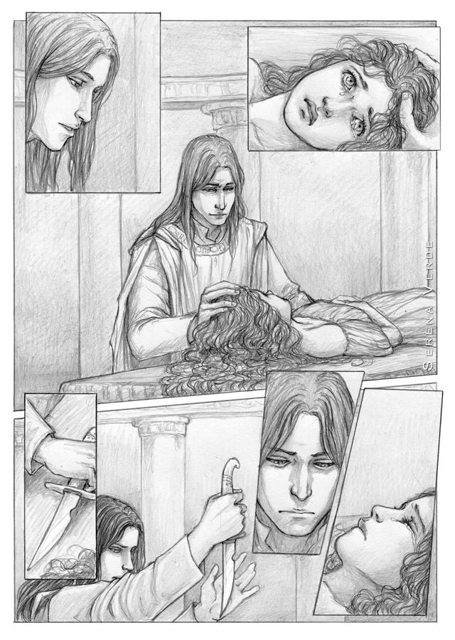 Commission: The Sacrifice by SerenaVerdeArt