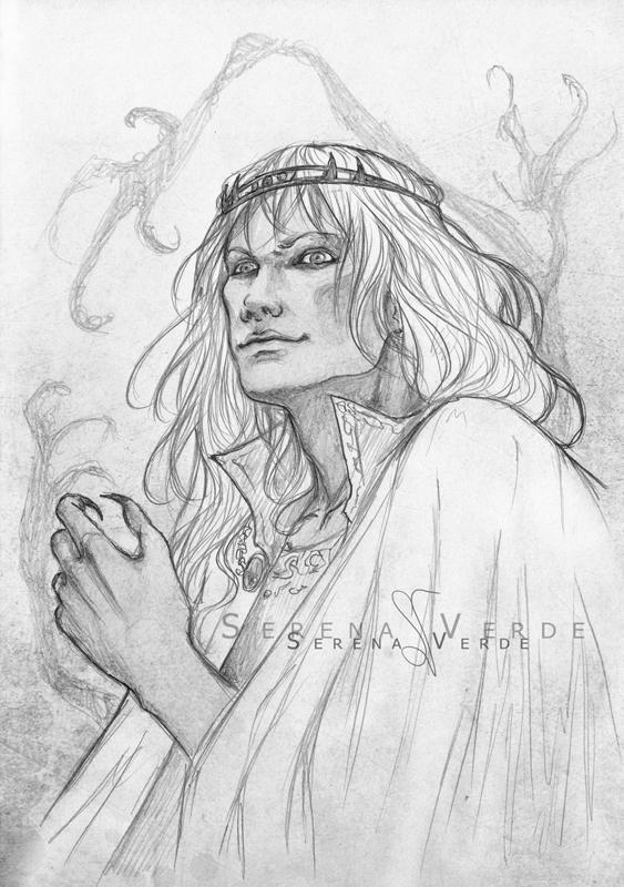 Portrait Commission: Rhyss by SerenaVerdeArt