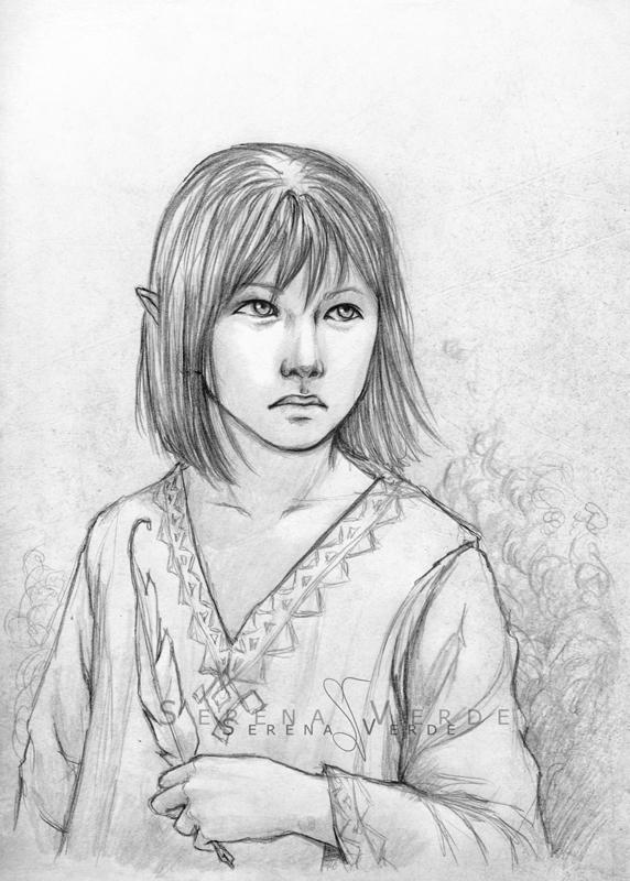 Portrait Commission: Koji by SerenaVerdeArt