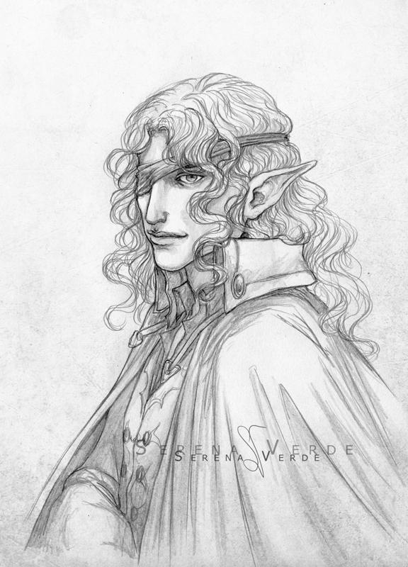 Portrait Commission: Estingo by SerenaVerdeArt