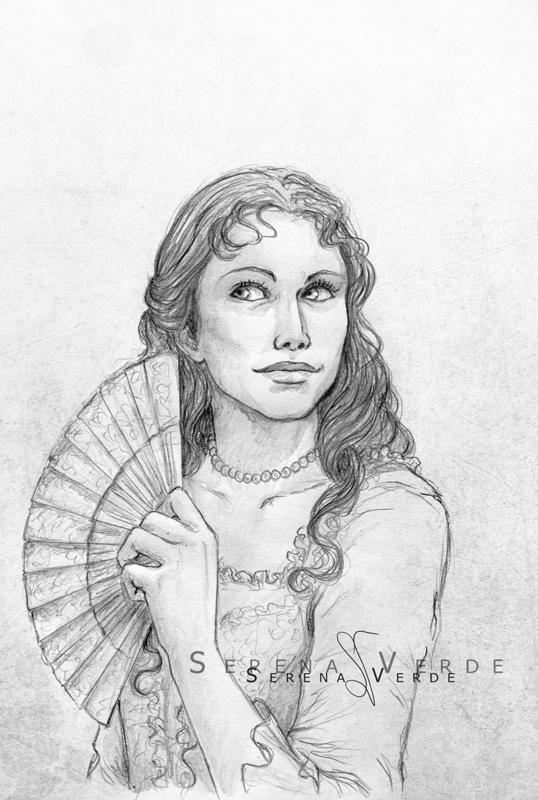 Portrait Commission: Riana by SerenaVerdeArt