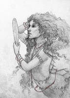 Portrait Commission: Genevieve by SerenaVerdeArt
