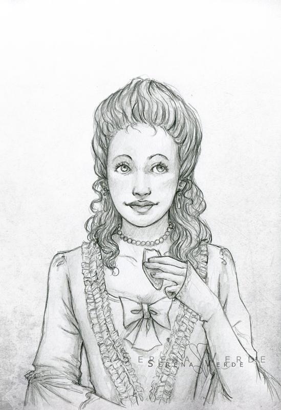 Portrait Commission: Belle by SerenaVerdeArt